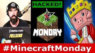 Minecraft Monday got HACKED! New YT Event - Technoblade, JeromeASF, Wisp