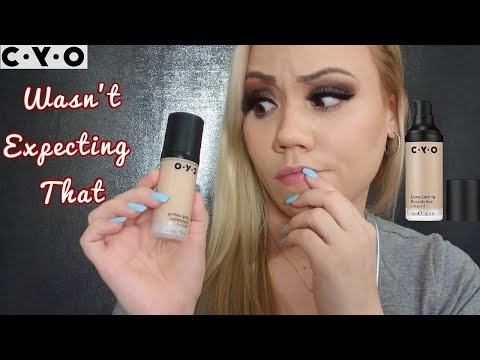CYO Lifeproof Foundation •Oily Skin• Review/demo/swatch•{Shade 103} Wear test