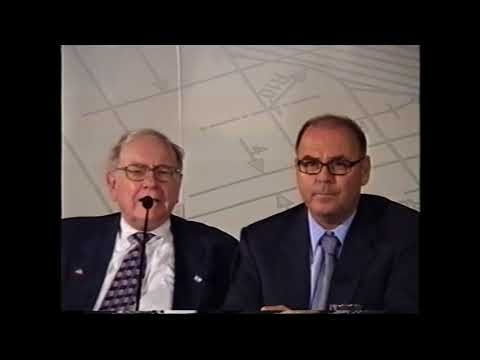 Warren Buffett and Charlie Manger, Stef and Eitan Wertheimer