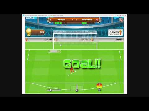 World cup 2010 penalty shootout on Y8 Let's Plays Monday Y8 Soccer game