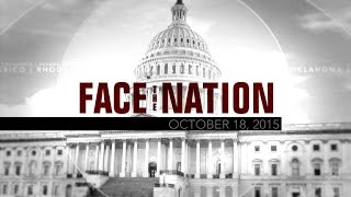 Open: This is Face the Nation, October 18