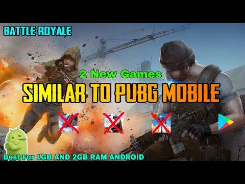 Games Similar to PUBG MOBILE | Games Like PUBG For 1GB Ram
