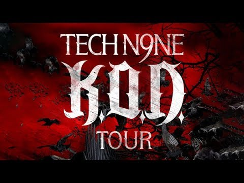 Tech N9ne - K.O.D. Tour (Live in Kansas City) 2010 HD