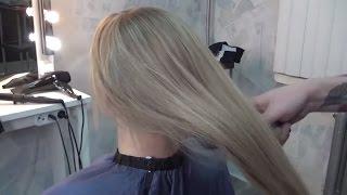 Как делать мелирование. Окрашивание волос. Видео для парикмахеров. Парикмахерское искусство.