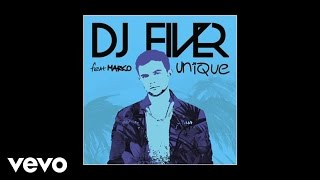 Download DJ FIVER - Unique (Audio) ft. Marco MP3 song and Music Video