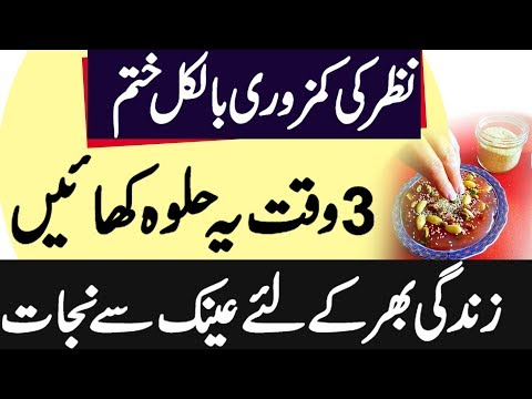EyeSight Weak Treatment In Urdu - Nazar Ki Kamzori Ka Ilaj | Ainak Se Nijat