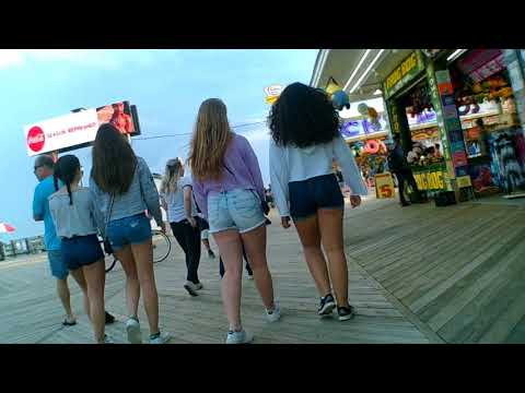 Seaside Heights boardwalk mdw 2018 sat