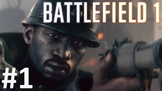 BATTLEFIELD 1 Gameplay Walkthrough Part 1 BF1 War Stories Single Player