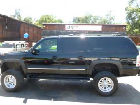 2002 Chevrolet Suburban Lifted 4dr 2500 4wd Lt Angels