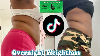 TRYING TIK TOK WEIGHT LOSS HACKS TO SEE IF THEY WORK| CHINA SLIM TEA EDITION
