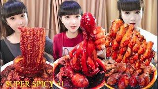 Super Spicy Chinese Food - Chinese Food Profession - Tik Tok Chinese - 農村吃貨消滅媽媽秘製火鍋串串香 #1
