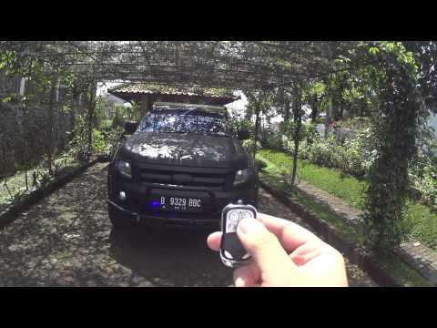 Ford Ranger 2013 T6 2 2l Mt Modification Black Mate Youtube