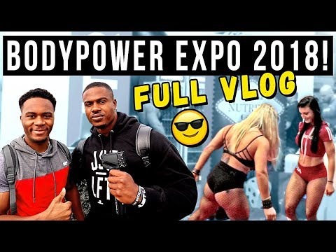 BODYPOWER 2018 ft. Simeon Panda, Rob Lipsett, Christian Guzman, Maxx Chewning & Mike Rashid