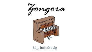 Hangszer ovi - Bújj, bújj zöld ág 2 (zongora) / Hungarian folk children song with animals