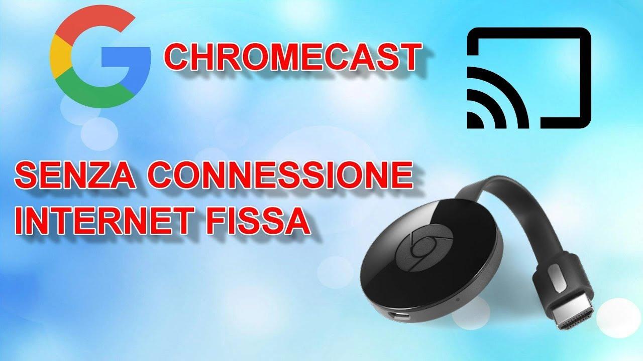 Come faccio a collegare Google Chromecast