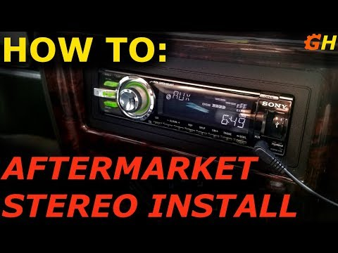 How To Install A Stereo! | XJ Jeep Cherokee 1997-2001