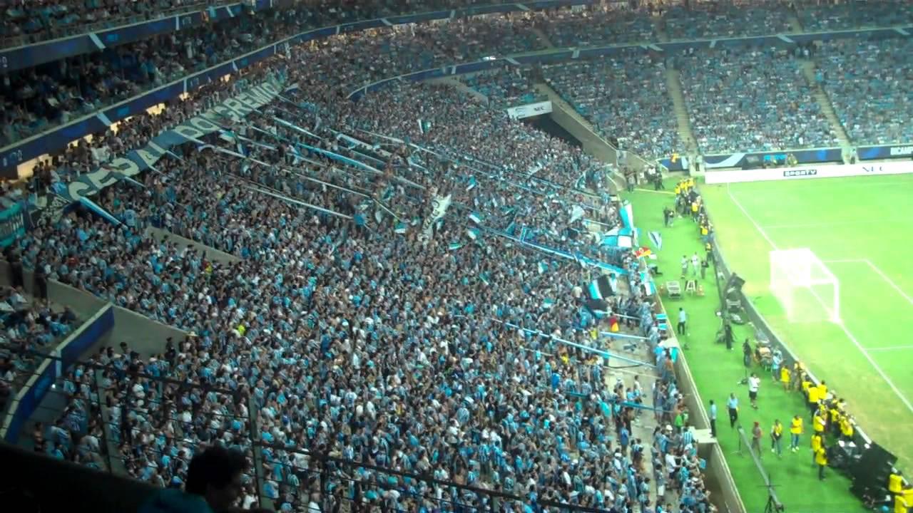 Arena do Grêmio - Primeiro Gol! Primeira Avalanche ...