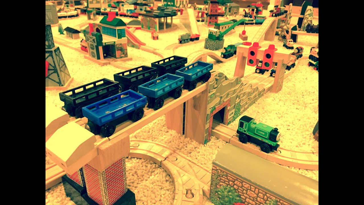 Thomas Wooden Railway Layout 10 Youtube