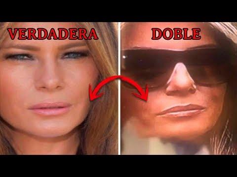 ¿Quien es la VERDADERA Melania Trump? ¿Todo este tiempo vimos a su doble?