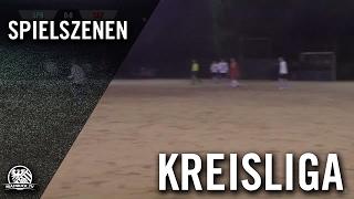 DJK Sparta Bürgel - Squadra Azzurra Offenbach (Kreisliga A, Offenbach, Gruppe West) - Spielszenen