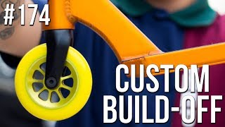 Mystery Part Custom Build Off!! - Part 2 (ft. Walter Perez) │ The Vault Pro Scooters