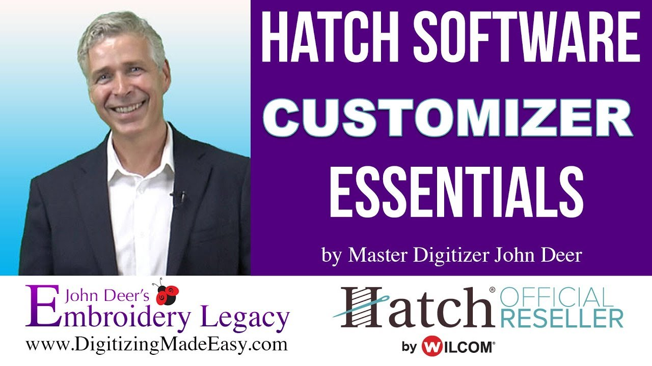Hatch Customizer Embroidery Software Tutorial: Beginner's Guide 1