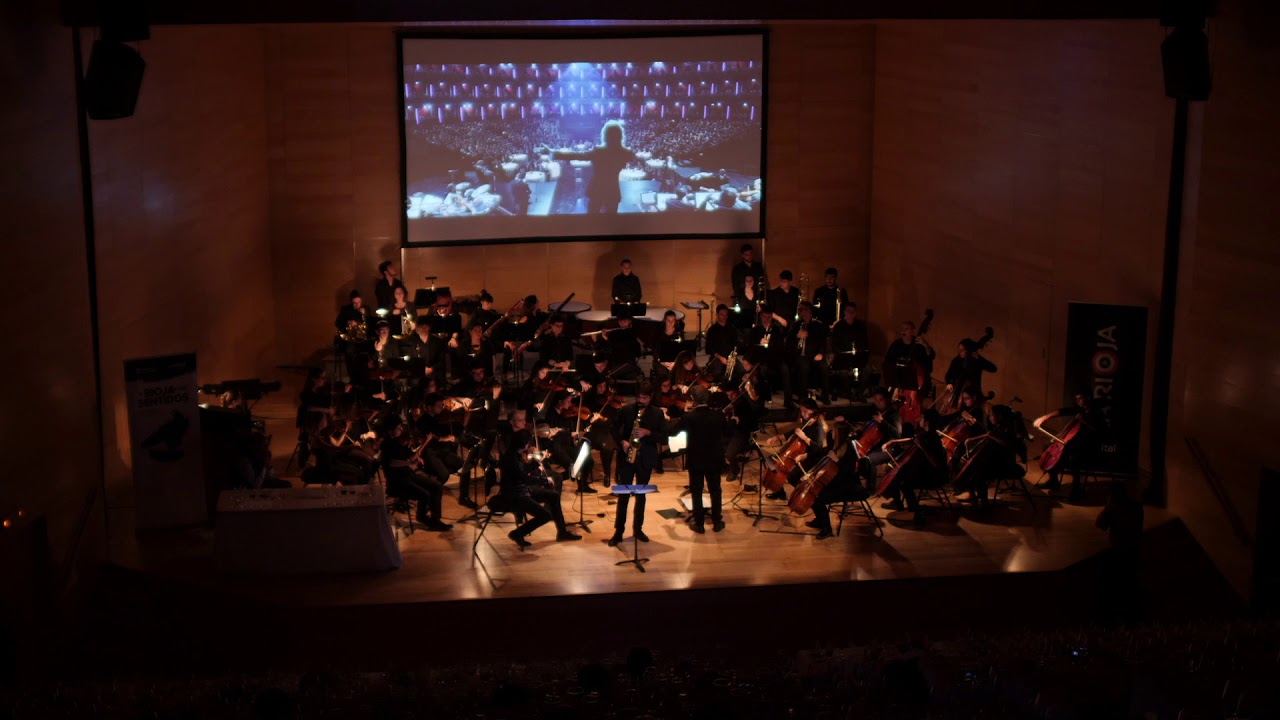 MY WAY - MANUEL GIL & COLLEGIUM MUSICUM LA RIOJA (Saxophone and orchestra version)