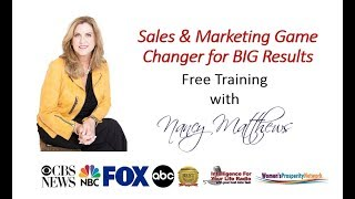 Sales &amp Marketing Game Changer - How to Boost Sales and Love It