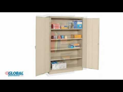 Globalindustrial.com Easy Assembly Industrial Cabinets