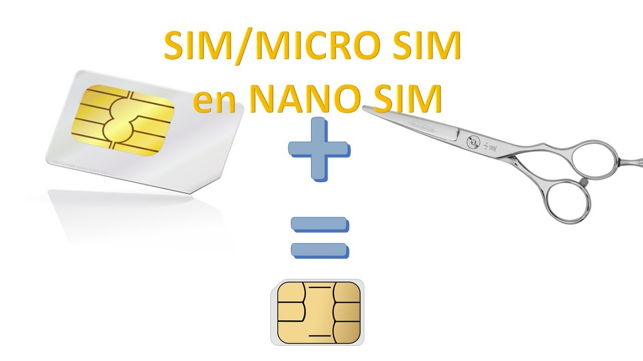 decouper une carte sim ou micro sim en nano sim pour zero euro un ex no life bricole youtube. Black Bedroom Furniture Sets. Home Design Ideas