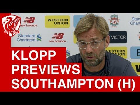 Jurgen Klopp Pre-Match Press Conference | Liverpool vs. Southampton