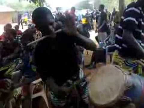 SATURDAY 25th JANUARY 2014. BALE NKWANTA, EASTERN REGION. AGBADZA DANCE