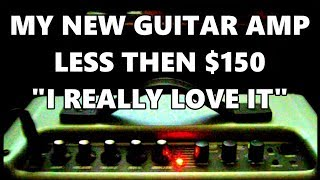 *MY NEW GUITAR AMP* INCREDIBLE SOUND!!