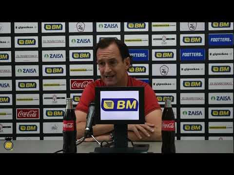 Jornada 9: Rueda de prensa de Joseba Etxeberria, entrenador del Bilbao Athletic