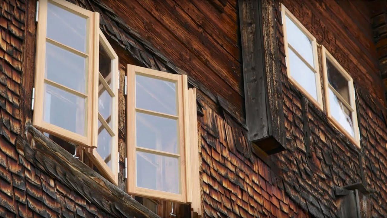 Restaurierung Von Historischen Holzfenstern
