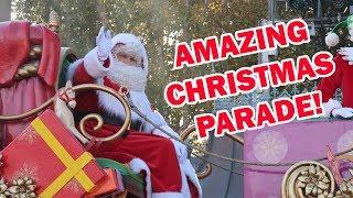 DISNEYLAND PARIS CHRISTMAS PARADE 2018