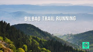 Trail Running Bilbao with Garmin Fenix 5. Route made with Garmin Connect