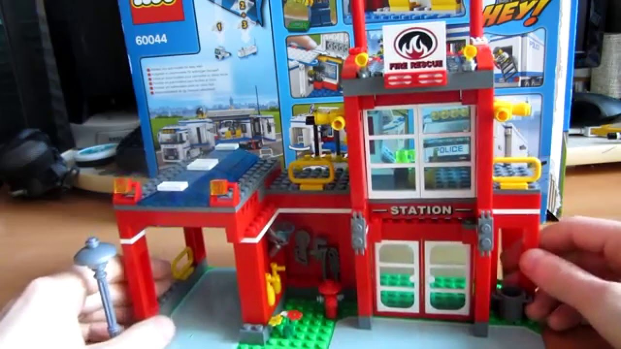 Обзор LEGO CITY Выездной отряд полиции 60044 - YouTube