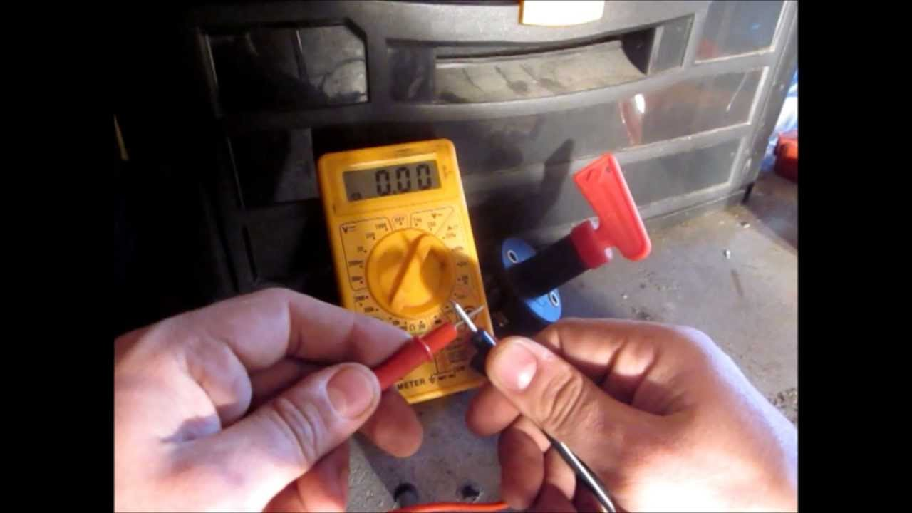 maxresdefault how to install a kill switch on your car youtube Double Pole Switch Wiring Diagram at gsmx.co