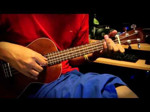 เดือนเพ็ญ - ukulele by Mrpook include tab