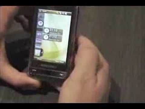 Samsung I900 Omnia Live Video Demo