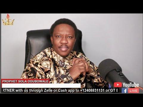 GLORIOUS MANIFESTATION 2021 (Day 2) With Prophet Olatunde Vicky