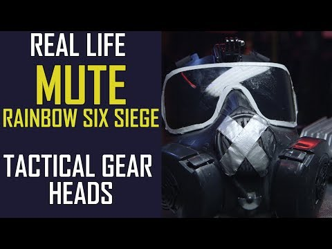REAL LIFE MUTE?! Rainbow Six Siege Cosplay - Airsoft GI Tactical Gear Heads