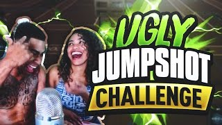 MYPARK UGLY JUMPSHOT CHALLENGE!! GIRLFRIEND CRACKS EGGS ON MY HEAD IF I MISS!!! NBA 2K17