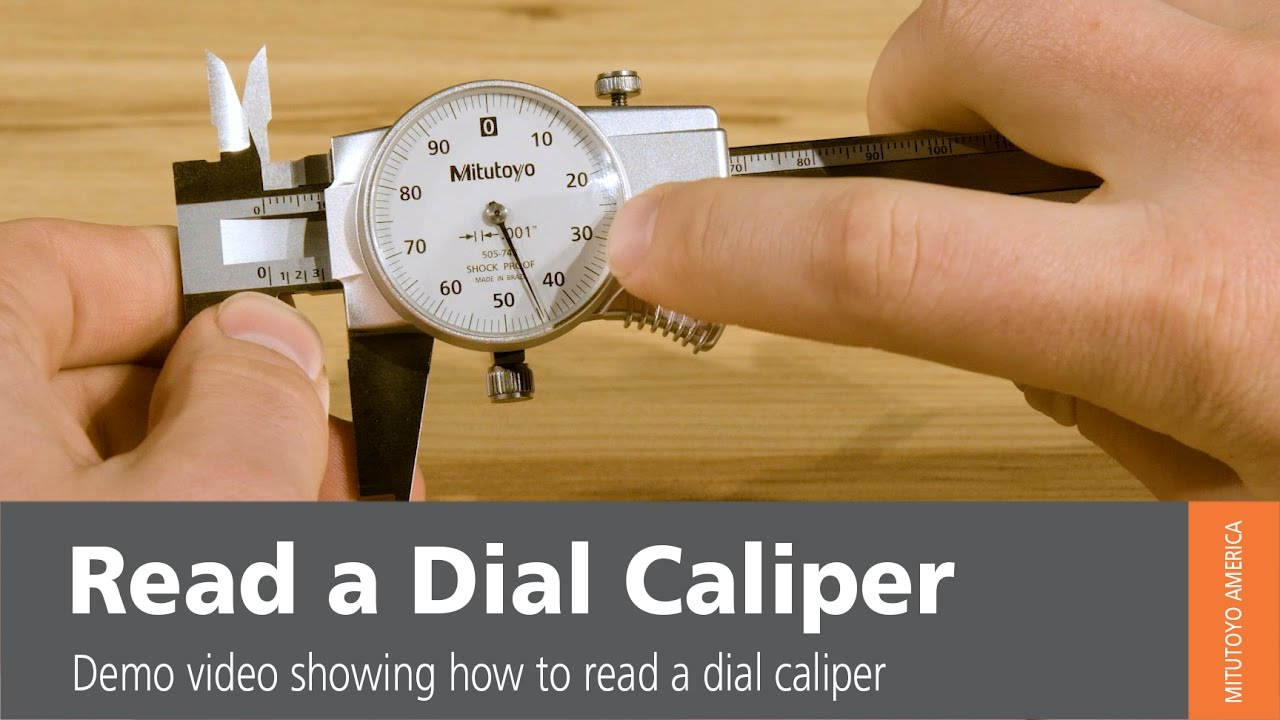 How To Read A Dial Caliper - Mitutoyo America