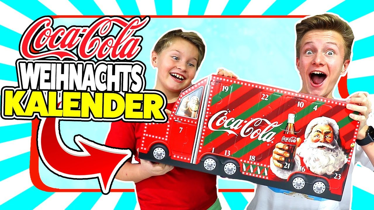 Nerf Weihnachtskalender.Coca Cola Truck Adventskalender 2018 Neuer Inhalt Tiptaptube Family