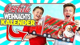 Coca - Cola TRUCK ADVENTSKALENDER 2018🥤 NEUER Inhalt 😝 ? 😁 TipTapTube Family 👨👩👦👦