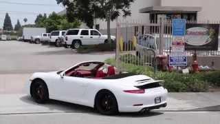 Porsche 911 Carrera Cabriolet 2012 Videos