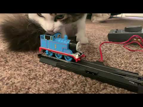 Smallest HO Scale Thomas Layout – 1 piece of track