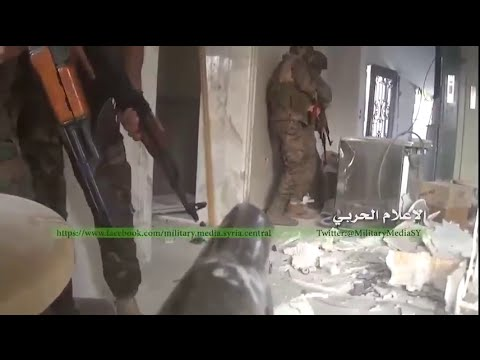 Syrian War 2015 - SAA & Hezbollah in Zabadani making more progress capturing Commercial Bank